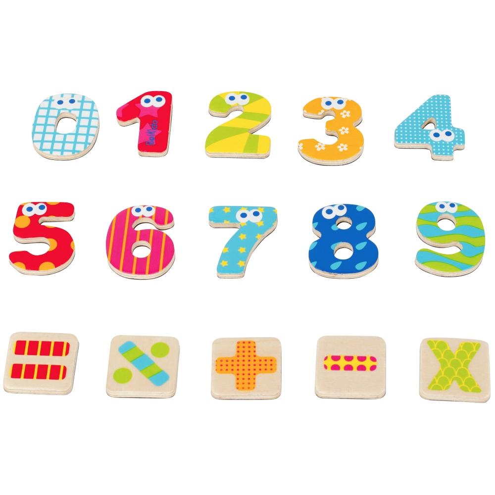 法國Boikido木製玩具-數學學習磁鐵組