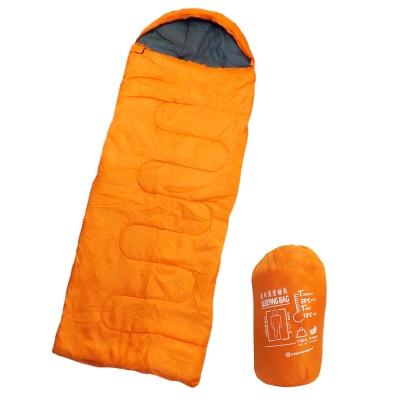 Tree-Walker-通用露營睡袋-亮橘