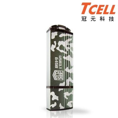 TCELL 冠元-USB3.1 64GB 4K PLUS 迷彩極速隨身碟