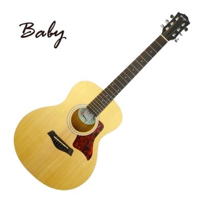 BABY-GW138NS-36吋旅行民謠吉他-原木