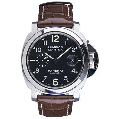 PANERAI 沛納海 PAM00164 Luminor Marina  小秒針機械錶-44mm