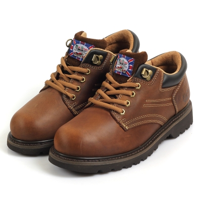 Kai Shin 安全工作鞋 褐色 M-G4040C00-KP