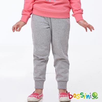 bossini女童-休閒運動褲02淺灰