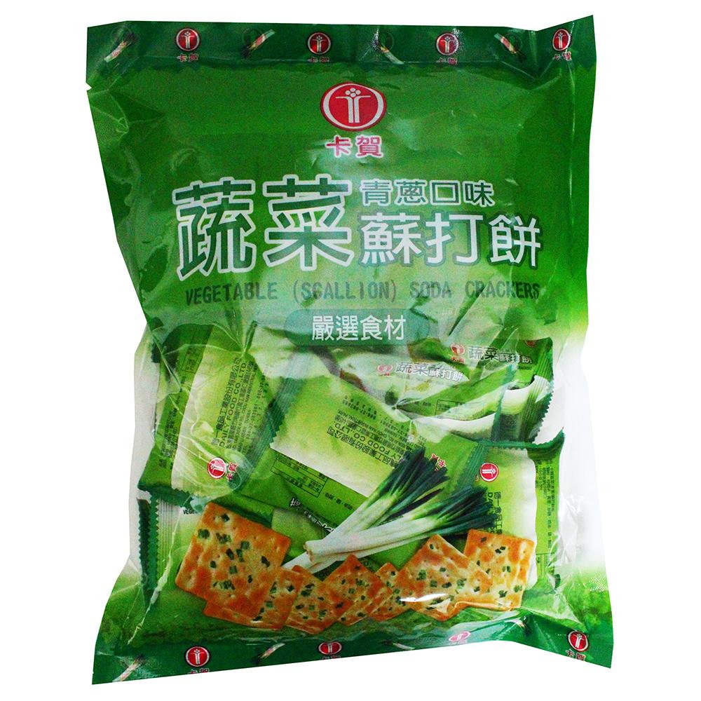 卡賀 蔬菜青蔥蘇打餅(320g)