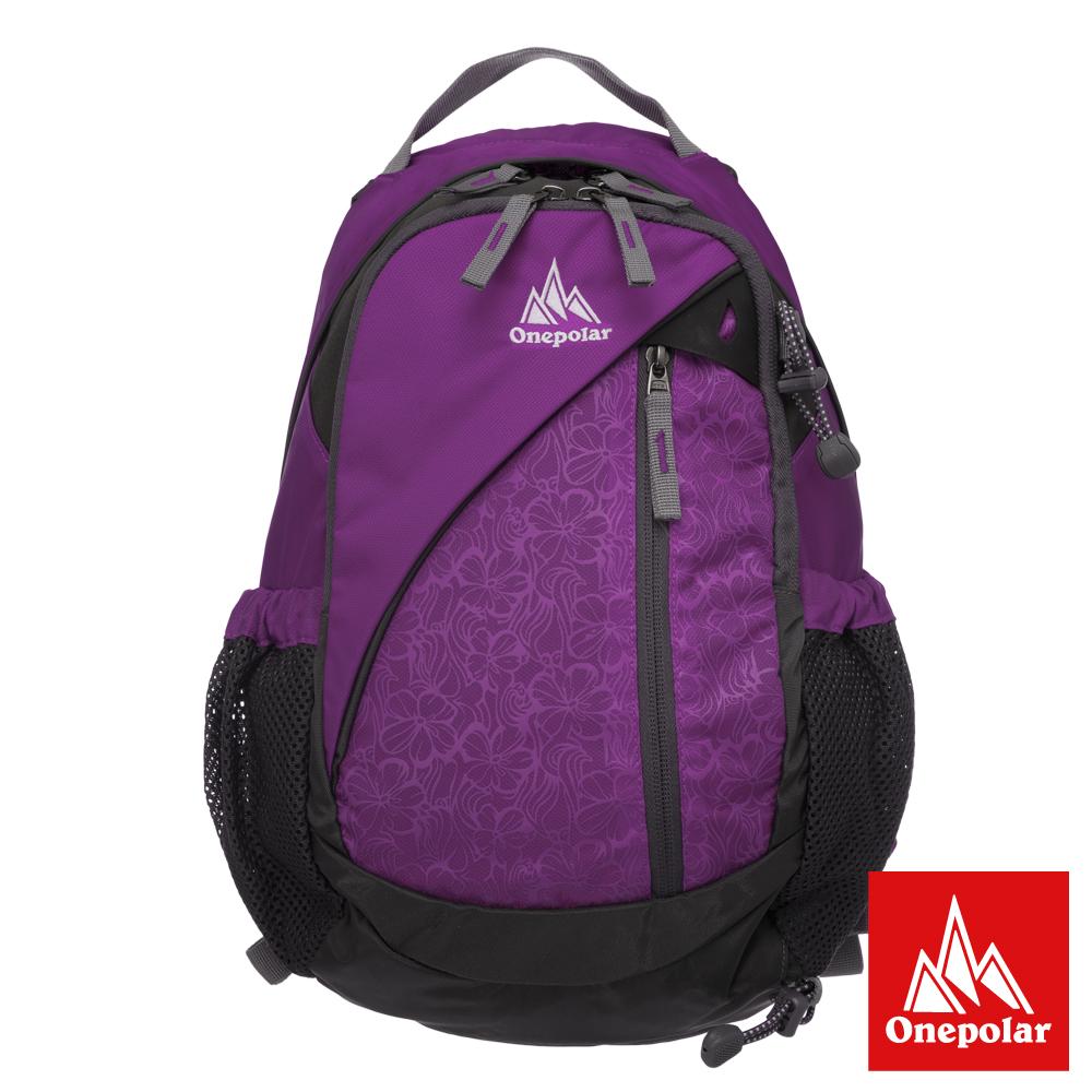ONE POLAR 自然蜂巢透氣背包-紫色PL01389PL