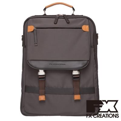 FX CREATIONS Dexter系列 AGS兩用後背包-咖啡