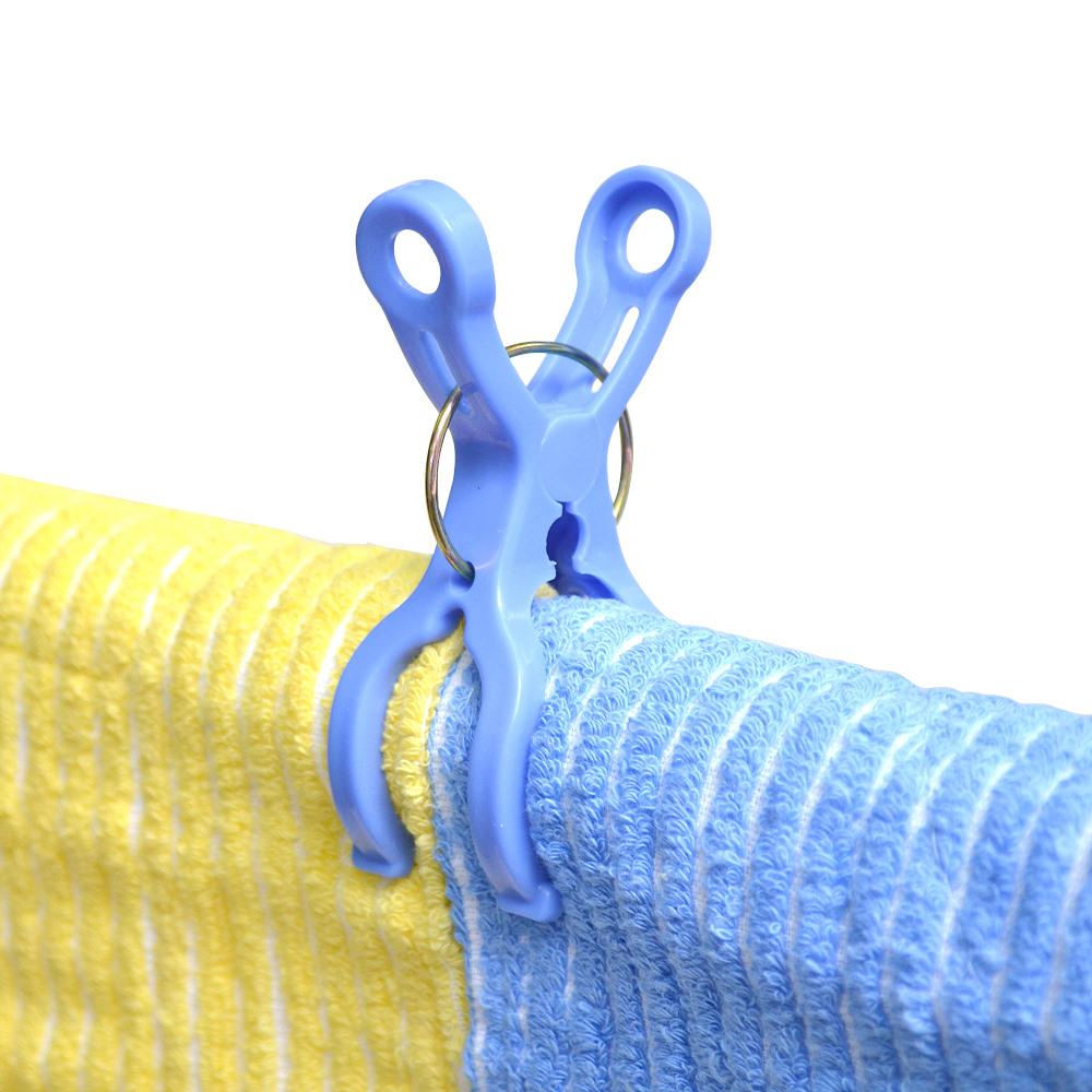 【特惠組】日本AISEN便利機能6入曬竿專用衣夾3包裝