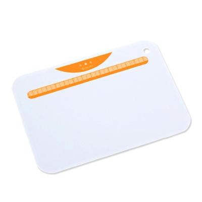 【KYOCERA】日本京瓷抗菌砧板(白底橙)