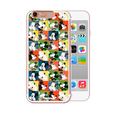OPENBOX iPhone 6/6S 4.7吋 可愛爆閃手機殼-經典方格米奇