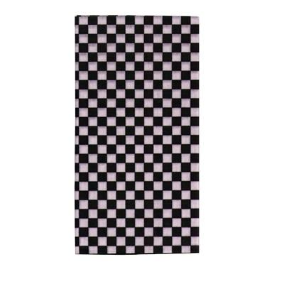 【A-Magic】台制頭巾-黑白方格