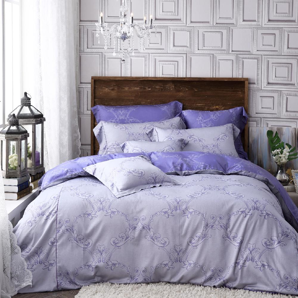 OLIVIA   安德魯  特大雙人床包兩用被套四件組   棉天絲系列