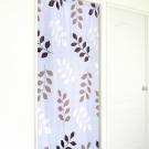 布安於室-三色葉雙用遮光超長門簾-寬130x高220cm