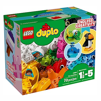 2018 樂高LEGO Duplo 幼兒系列 - LT10865 趣味創作盒
