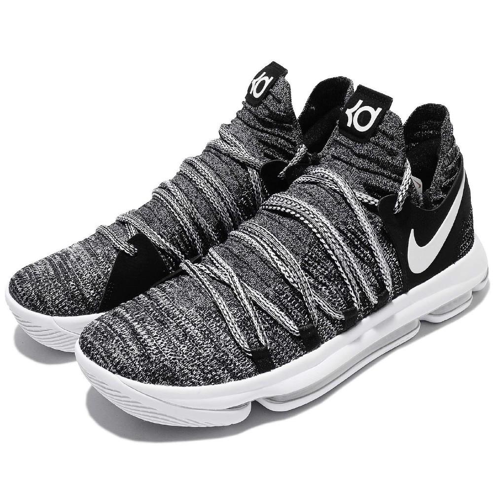 Nike 籃球鞋 Zoom KD10代 Oreo 男鞋