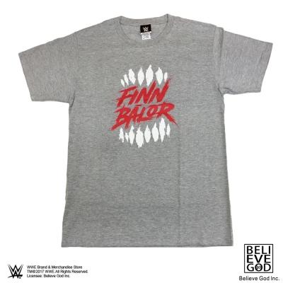 WWE正版授權WWE Finn BalorT恤(紅字logo灰色)