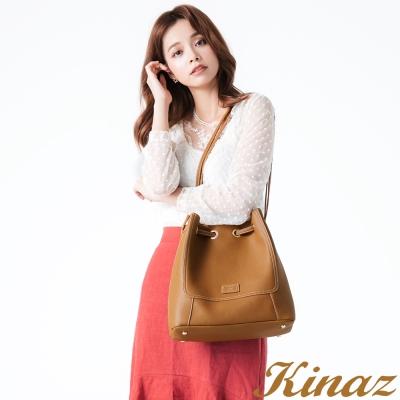 KINAZ理想境界兩用側背包-大地棕-無限系列