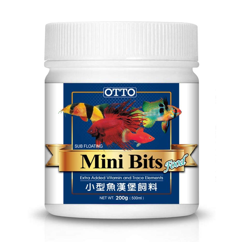 OTTO奧圖 小型魚漢堡顆粒飼料 100g
