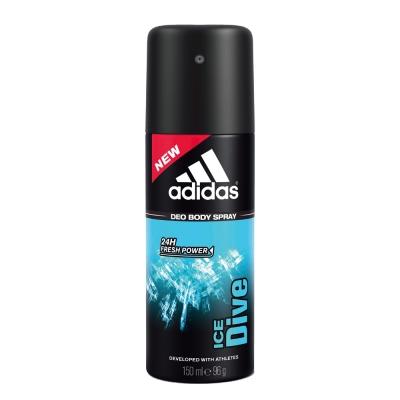 adidas愛迪達 男用香體噴霧(品味透涼)150ml