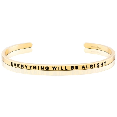 MANTRABAND Everything Will Be Alright 金色 一切OK
