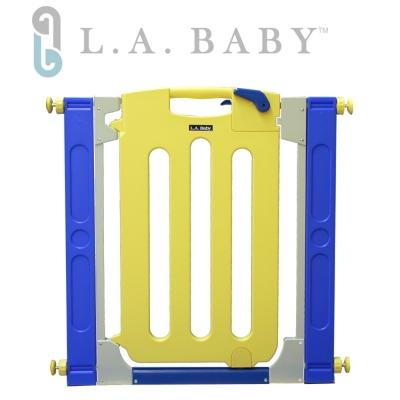 美國-L-A-Baby-幼兒安全自動上鎖門欄-圍欄