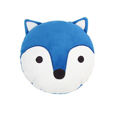 Yvonne Collection狐狸午安抱枕-藍