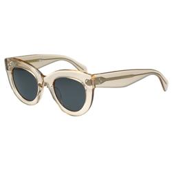 CELINE- 圓形復古 太陽眼鏡 (透明色)