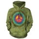 摩達客 美國進口The Mountain和平紮染 長袖連帽T恤 product thumbnail 1