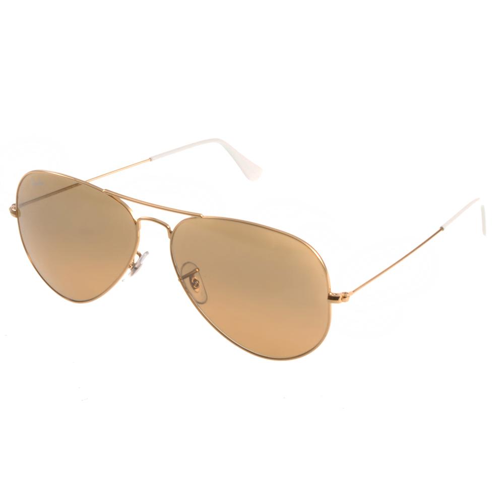 RAY BAN太陽眼鏡 經典品牌/水銀棕#RB3025 0013K(大版)