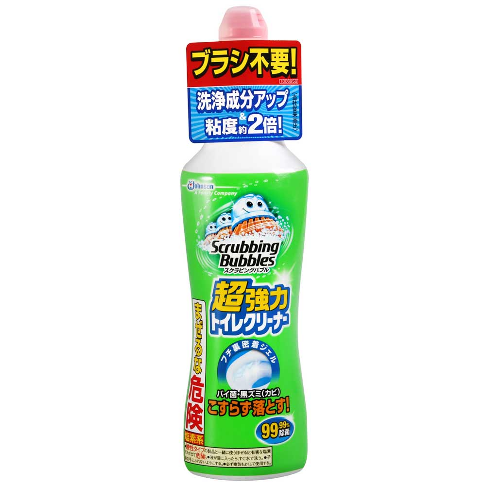 JOHNSON Scrubbing Bubbles強力馬桶清潔劑(400g)