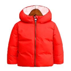 輕量極保暖80%羽絨外套 紅 k60459