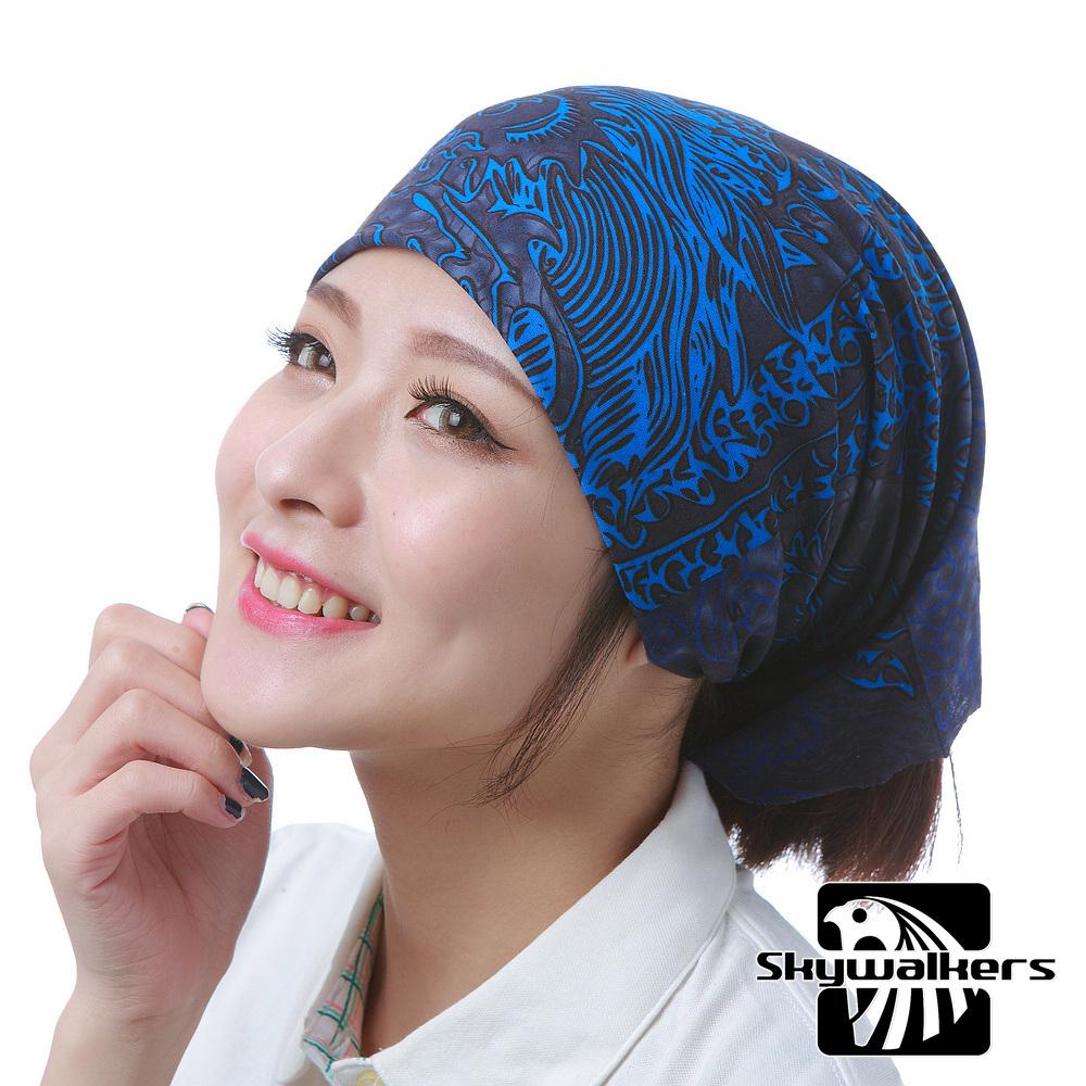 Skywalkers《新紋龍-藍》魔術頭巾
