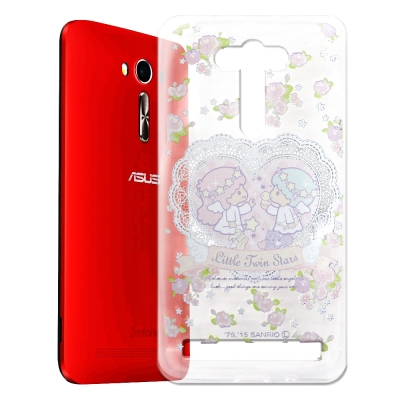 KikiLala ASUS Zenfone2 Laser 5吋 透明軟殼 天使雙...