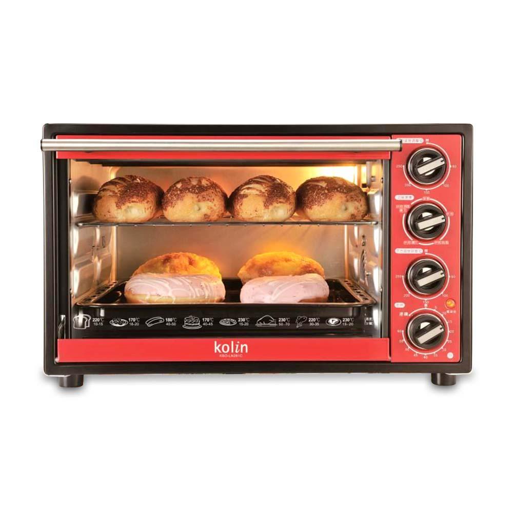 歌林3D旋轉烤籠電烤箱28L KBO-LN281C
