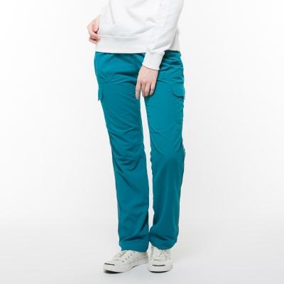 Hang Ten - 女裝 - ThermoContro多功能綁帶運動褲 - 藍