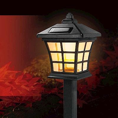 KINYO 太陽能LED庭園燈黃光(GL-6023)