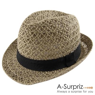 A-Surpriz 氣質優雅風格中折帽(品味咖)
