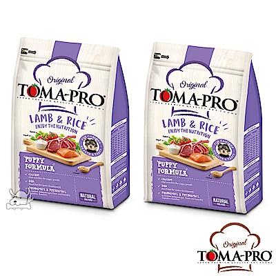 TOMA PRO 優格 聰明成長 羊肉+米 幼犬 飼料 3公斤 2包