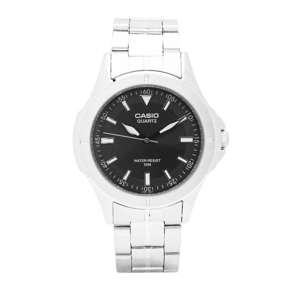CASIO 都會城市新風格指針錶(MTP-1214A-8A)-深灰色