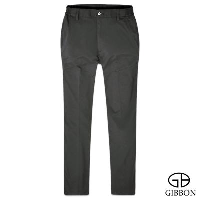 GIBBON 防曬超輕薄彈力鬆緊長褲‧深灰M~3L