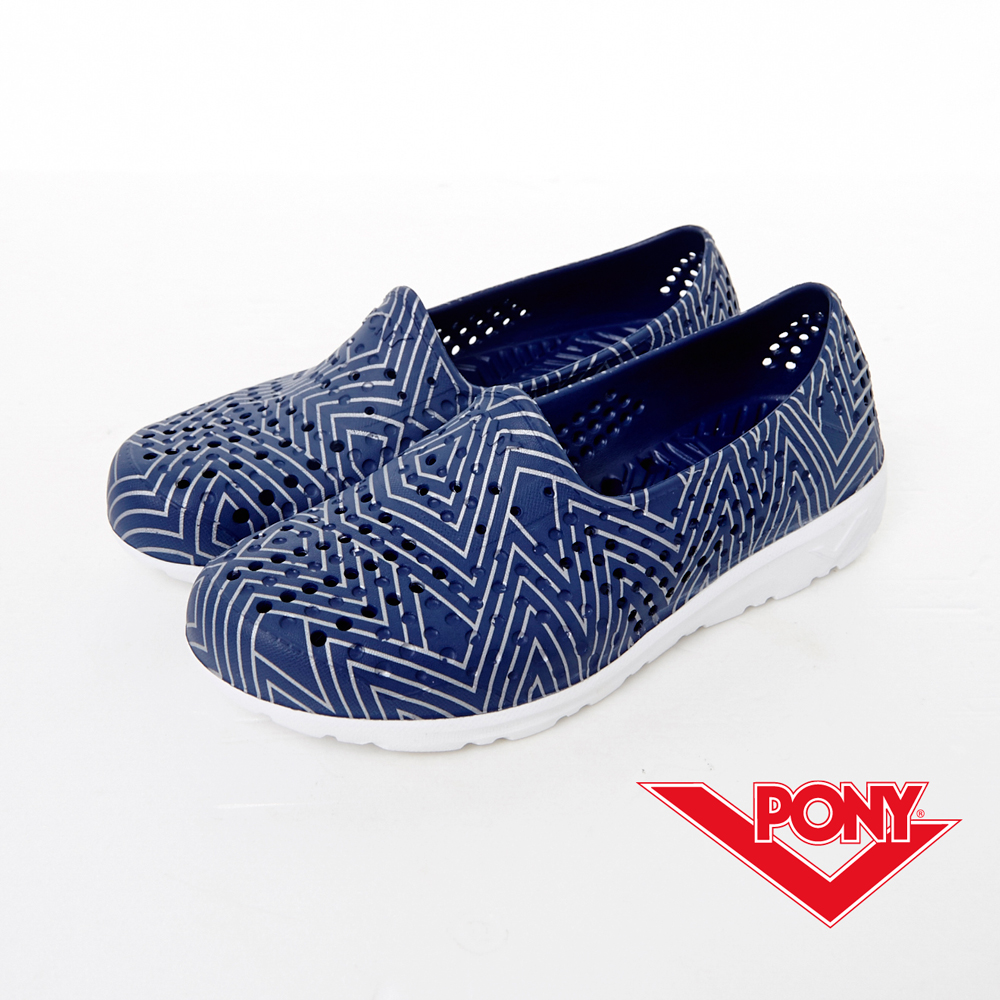 PONY--Tropic D系列-夏日輕量走路GOGO鞋-深藍-中性