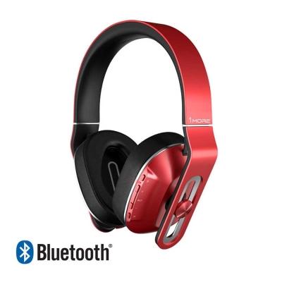 1MORE MK802 輕智能藍牙耳罩式耳機 (紅)