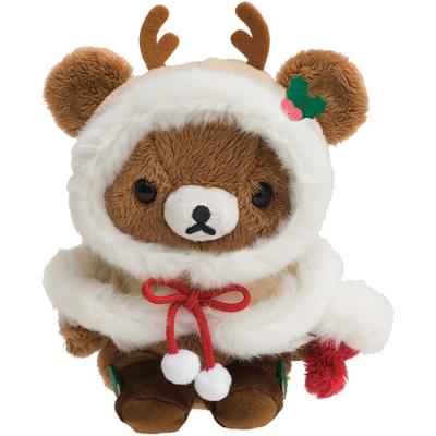 拉拉熊2017聖誕節店舖限定版毛絨公仔。蜂蜜小熊  San-X