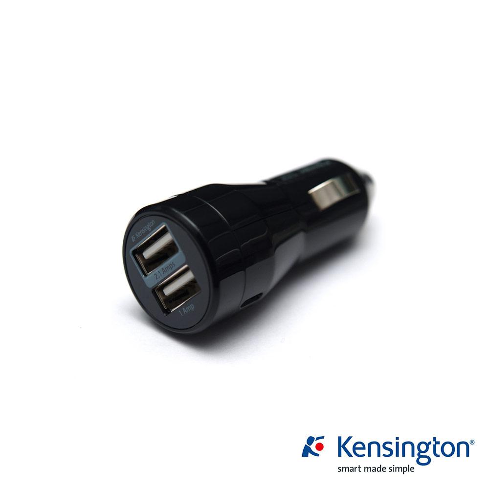 Kensington K39380AS 雙 Port 車用 USB 電源供應器