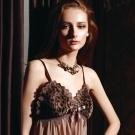 La Felino -森林派對細肩帶誘人性感睡襯衣 (魅力咖)