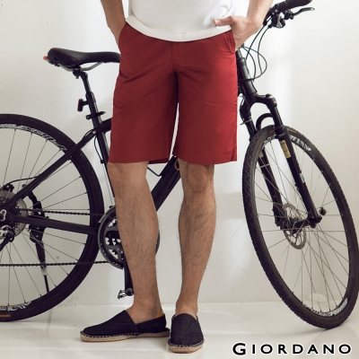 GIORDANO-男裝G-COOL涼感短褲-24標