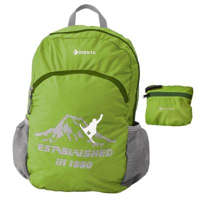 迪伯特DIBOTE 輕便折疊包 折疊背包 登山背包 單車包 - 30L (綠)