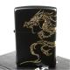【ZIPPO】日系~Dragon-民族風龍圖騰-兩面連續加工打火機(黑金款) product thumbnail 1