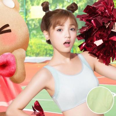 嬪婷 學生內衣 第三階段 校園運動背心 M-LL 內衣 (有氧綠)