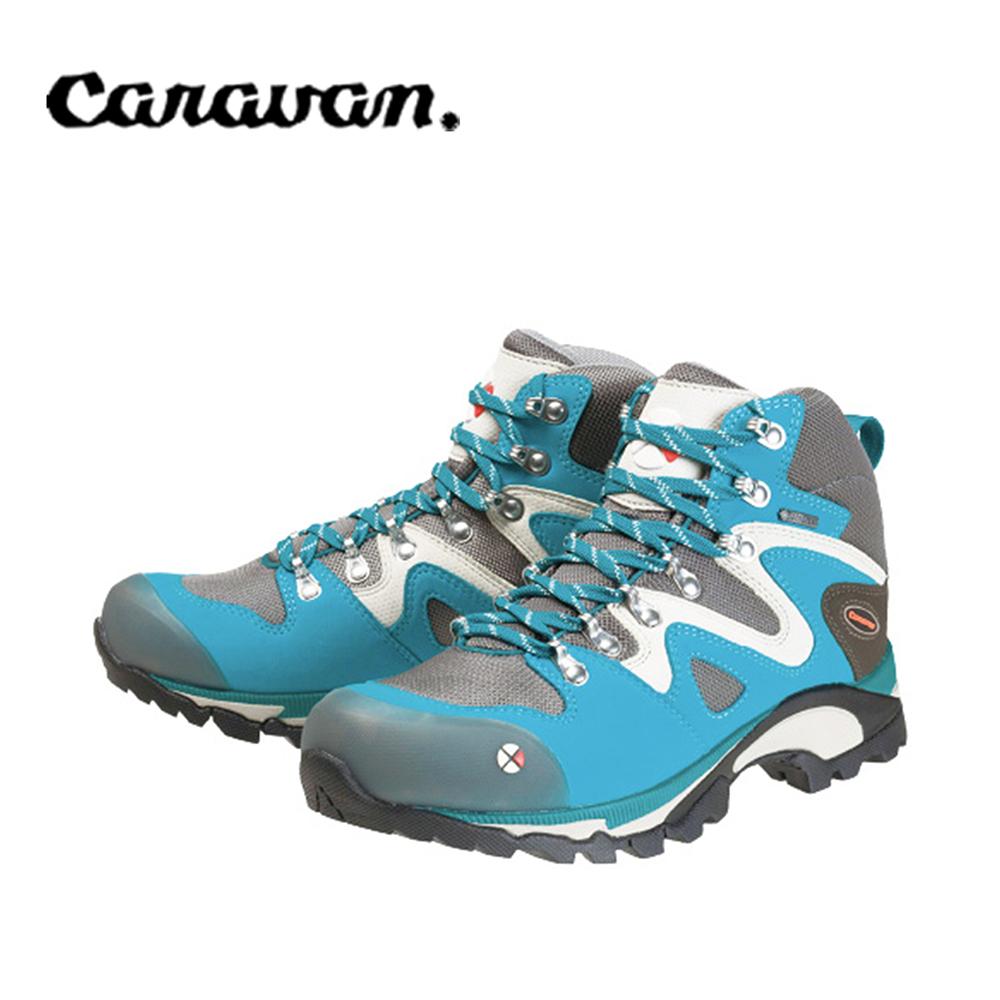 【caravan】C4_03S 戶外登山健行女鞋 空青石藍 0010403