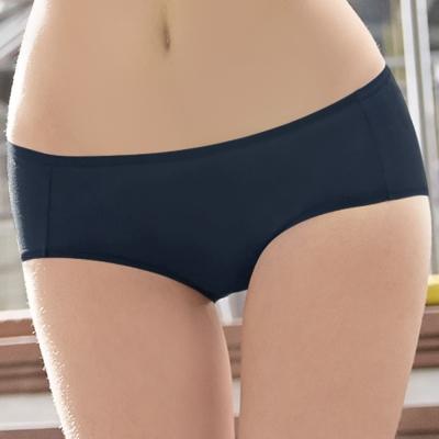 曼黛瑪璉-低腰寬邊三角棉褲(智慧藍)